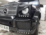 W463 Gelandewagen очки на фары за 39 000 тг. в Алматы – фото 5