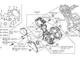 Лобовая крышка двигателя VK56 13500ez30a Patrol y62/QX56/QX80/Armada за 185 000 тг. в Алматы