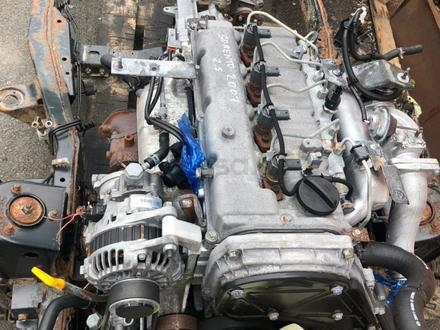Двигатель d4cb Kia Sorento 2.5 диз за 3 800 тг. в Караганда – фото 2