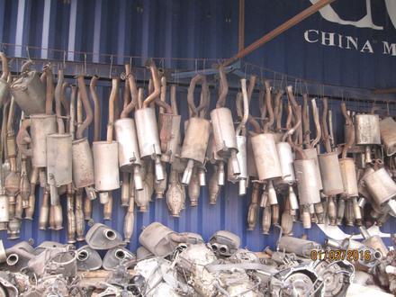 Глушитель на субару за 15 000 тг. в Алматы – фото 2