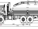 КамАЗ  43118 С КМУ Palfinger PK15500A 2021 года за 45 000 000 тг. в Актобе – фото 2