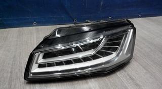Фары левые Audi a8 2009 - 2015г за 150 000 тг. в Алматы