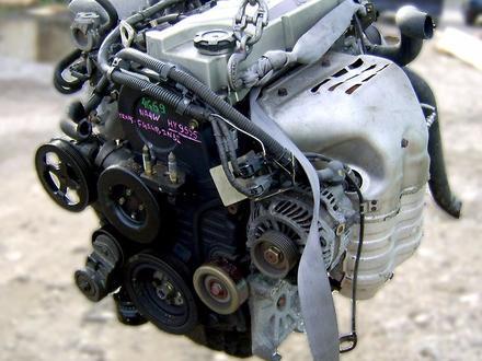 Двигатель Mitsubishi Outlander 2.4 л. 4G69 mivec 2001-2006 за 260 000 тг. в Алматы