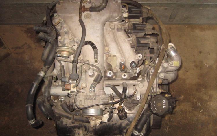 Двигателя и коробки Митсубиси Паджеро-4 6g72 за 777 тг. в Алматы