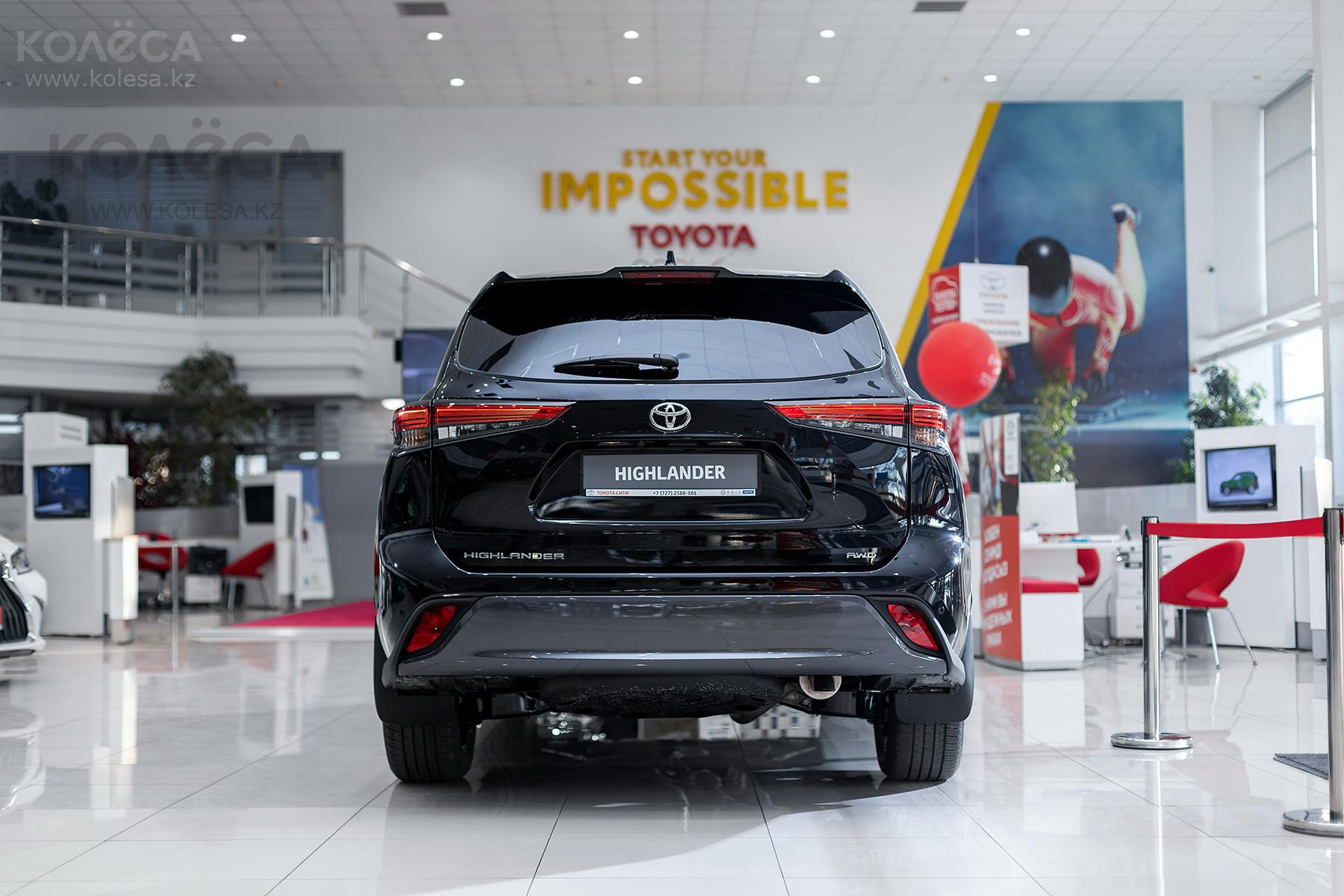 Toyota Highlander J класса 2020-2021 года от 29 490 000 тенге