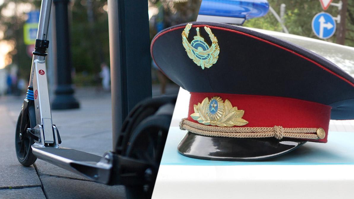 Полицейские на самокатах могут появиться в Алматы