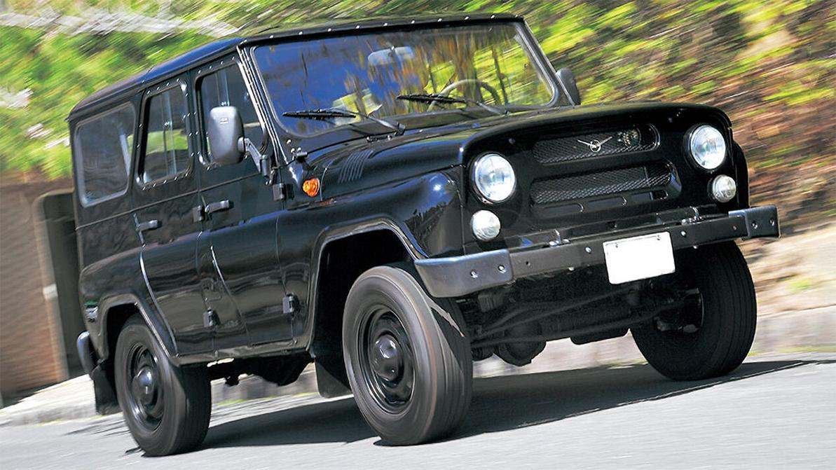 UAZ Hunter набирает популярность в Японии