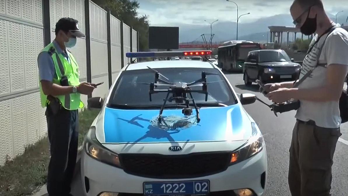 Полицейские Алматы к патрулированию подключают дроны