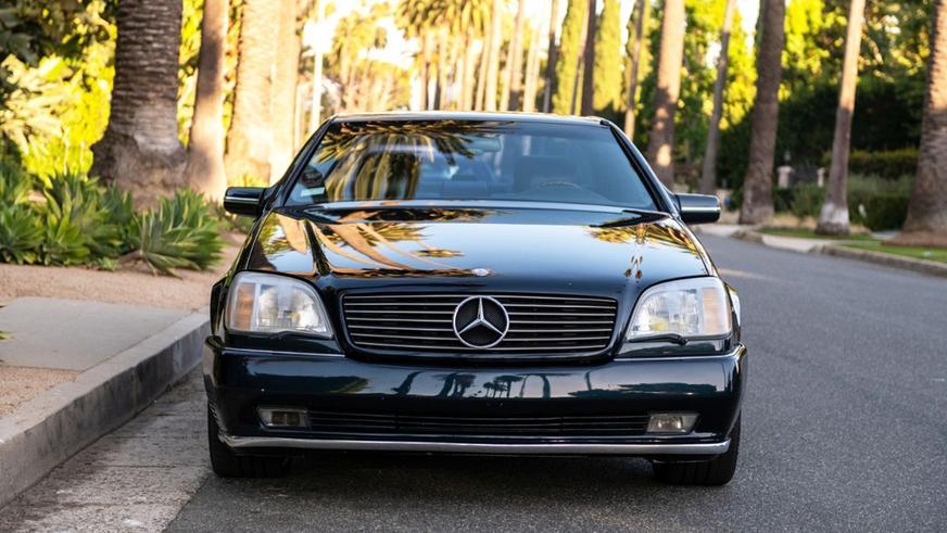 В продаже появился Mercedes-Benz Майкла Джордана
