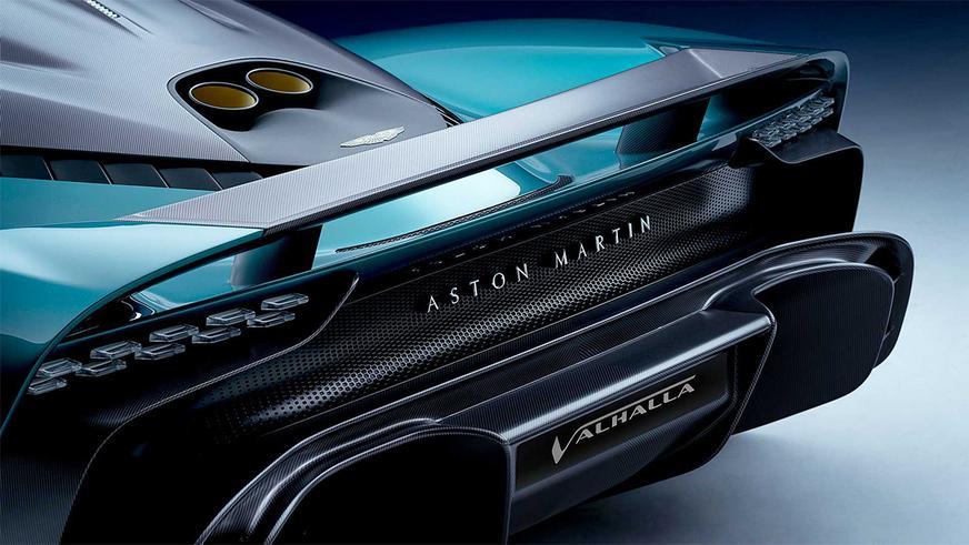 Дебютировал серийный Aston Martin Valhalla