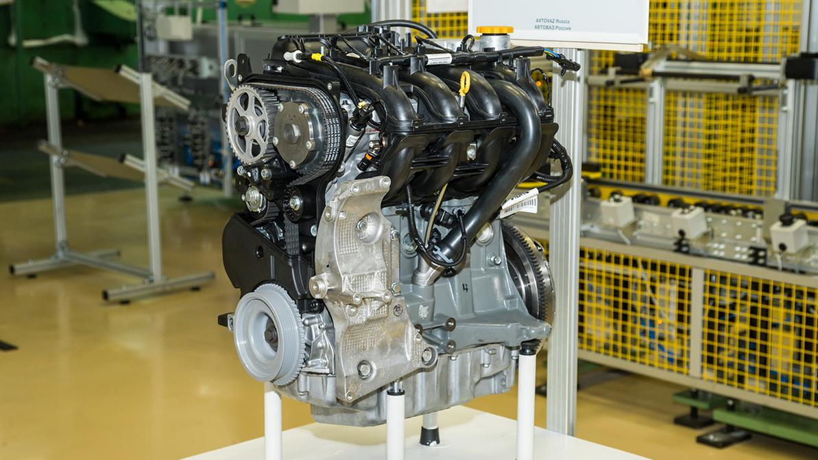 АВТОВАЗ модернизировал мотор 1.8