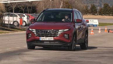 Новый Hyundai Tucson не любит «лосиный тест»