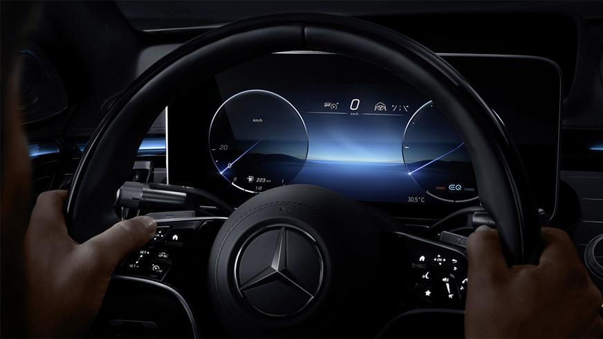 Новый Mercedes-Benz S-класс (W223) официально