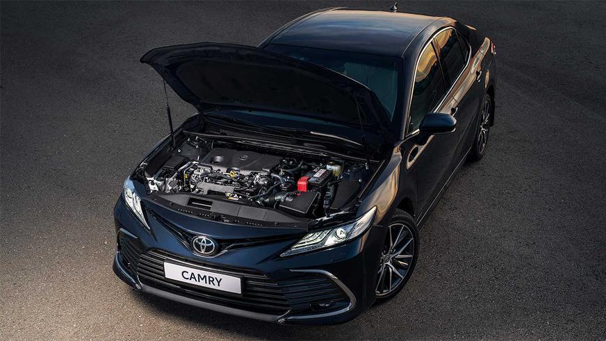 Обновлённая Toyota Camry в Казахстане. Известны цены