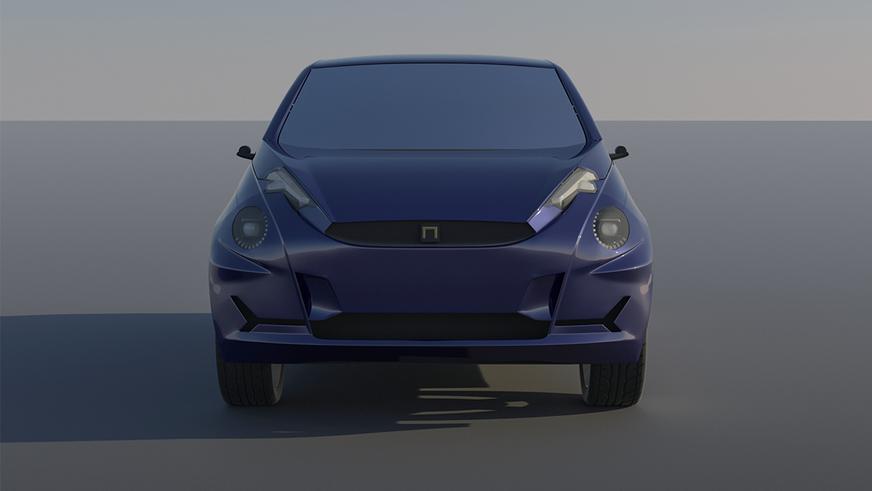 Казахстанец нарисовал свой электромобиль