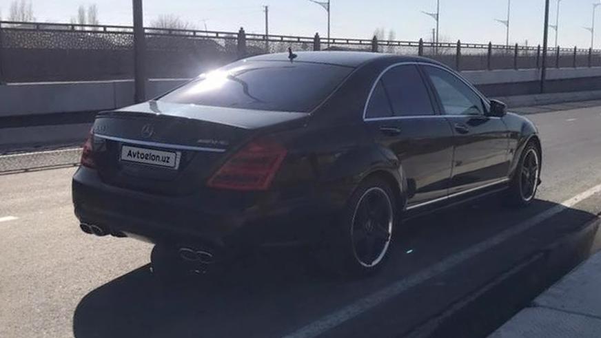Тюнинг по-узбекски: только W222, только хардкор