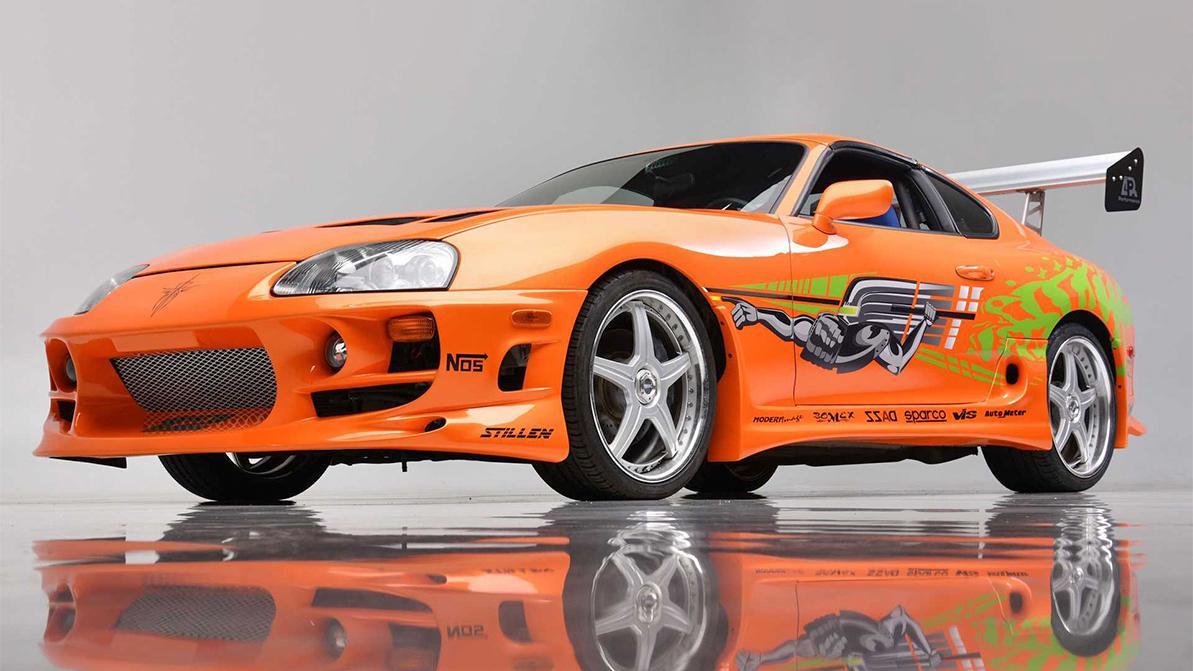 Ту самую Toyota Supra из «Форсажа» продали за $550 000