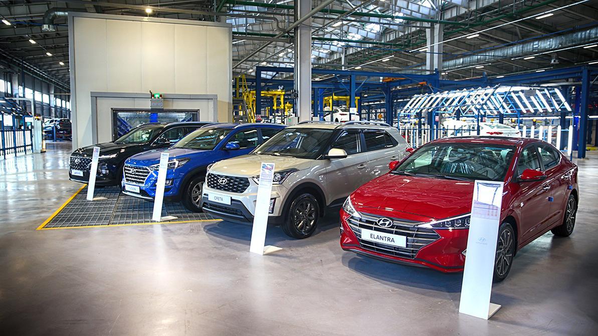 Официальный запуск цехов сварки и окраски завода Hyundai состоялся в Алматы