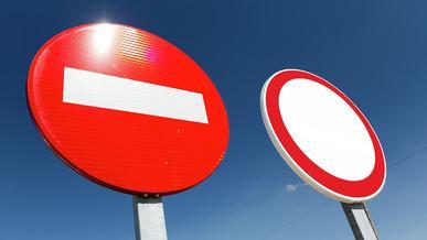 Школа «Колёс»: чем отличается «кирпич» от знака «Движение запрещено»