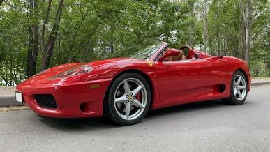 Найдено на Kolesa.kz: Ferrari 360 на механике