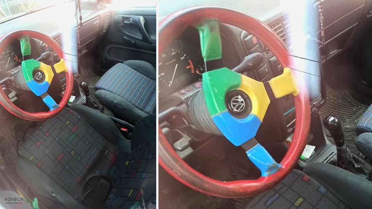 Редкий Volkswagen Polo Harlekin в продаже на Kolesa.kz