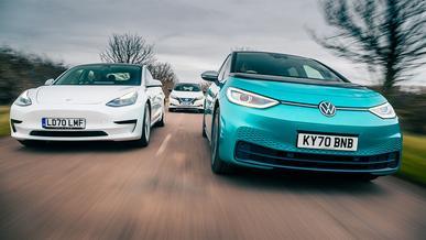 VW планирует забрать лидерство по производству электромобилей у Tesla