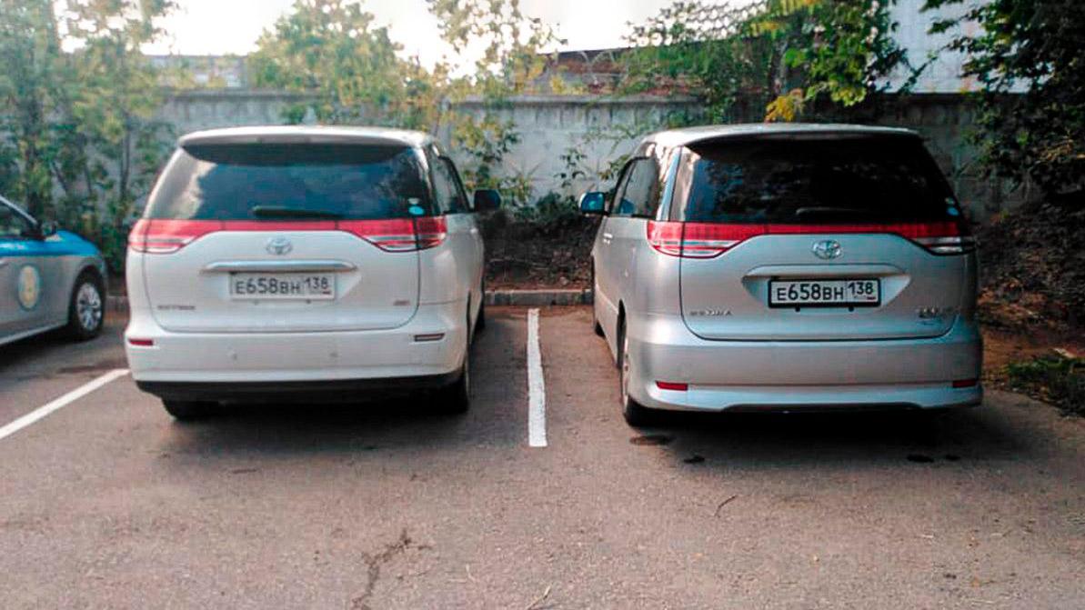 Автомобили-двойники на дорогах Казахстана