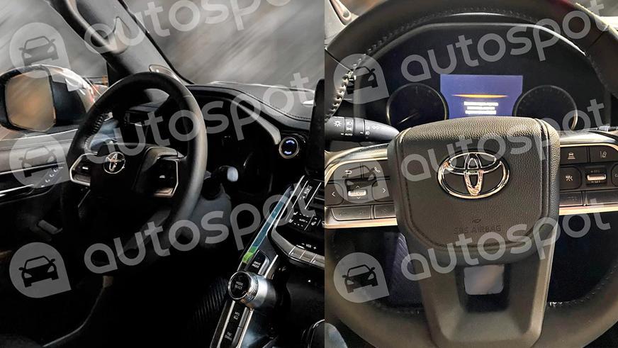 Toyota Land Cruiser 300. Фото интерьера утекли в Сеть