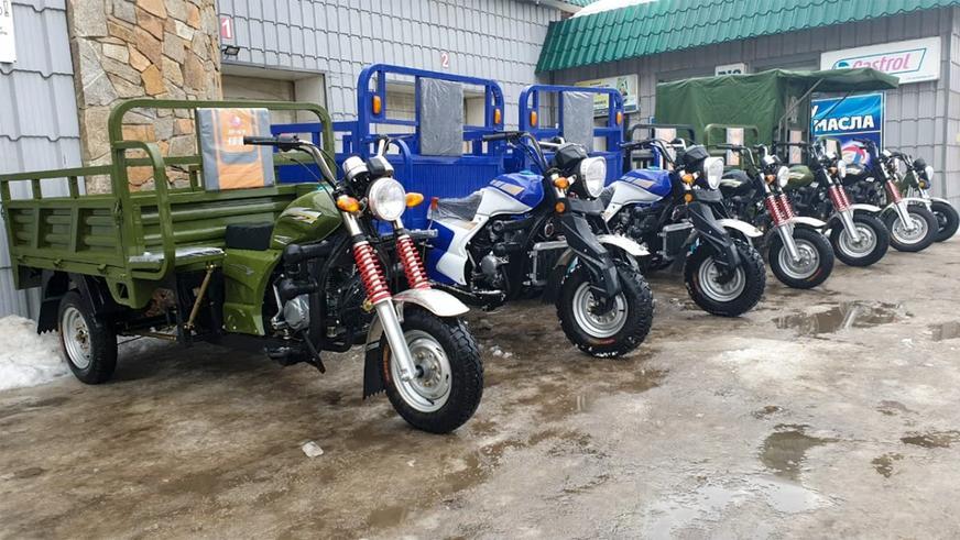 Только треть мотоциклов и мопедов в Казахстане ставится на учёт