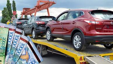 Каков размер утилизационного сбора на автомобили в Казахстане в 2021 году