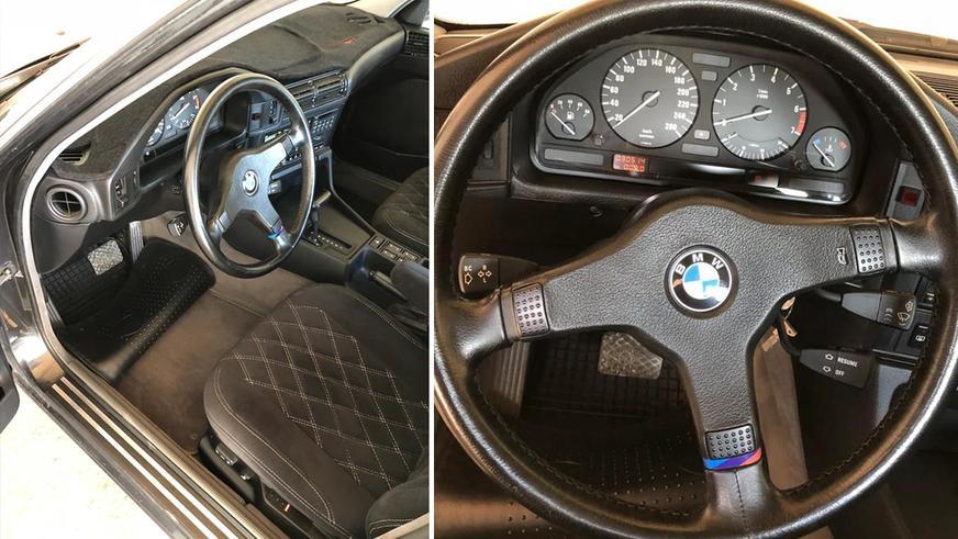 BMW E34 с минимальным пробегом продают на Kolesa.kz