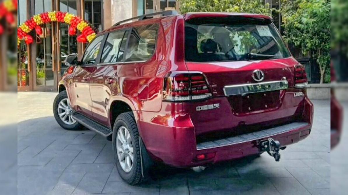 Китайский клон Land Cruiser 200 всё-таки появится в продаже