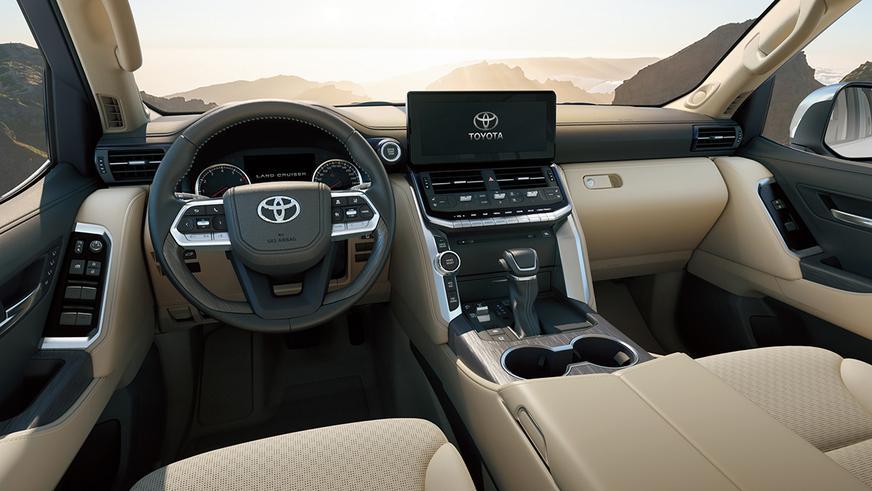 Toyota презентовала Land Cruiser 300