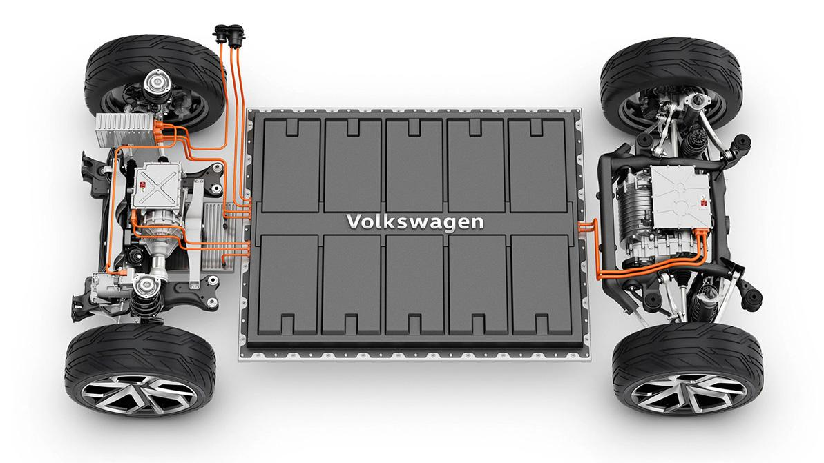 Volkswagen будет сам обеспечивать себя батареями