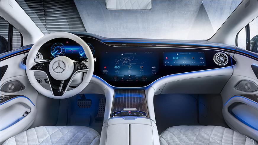 Mercedes-Benz EQS представлен официально