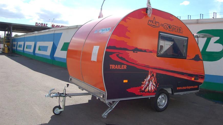Как организовать домик на колёсах: от палатки на крышу до прицепа-дачи