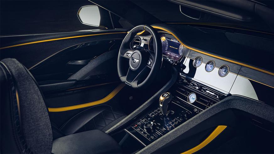 Bentley Bacalar показался в Лондоне и тут же спрятался в ящик