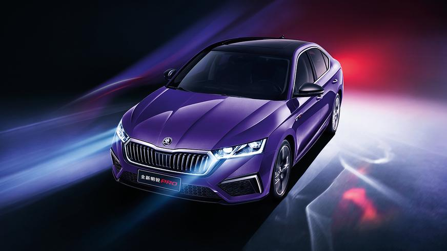 Škoda Octavia удлинилась