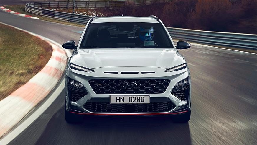 Hyundai Kona N: 290 л. с. и 5.5 сек. до сотни