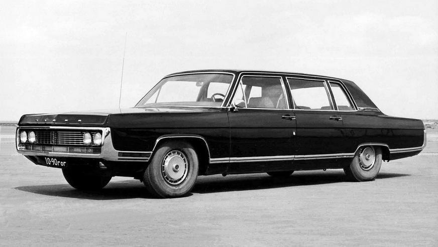 1971 год — ГАЗ 14 «Чайка» предсерийный