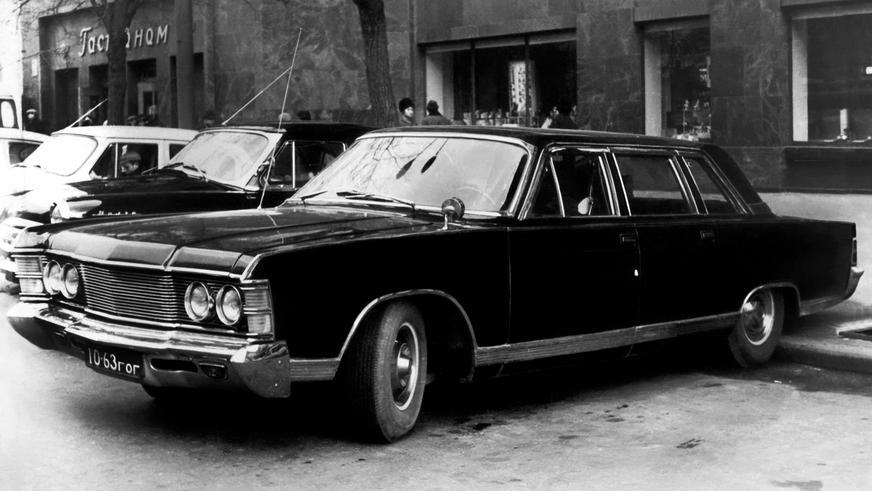 1975 год — ГАЗ 14 «Чайка» предсерийный