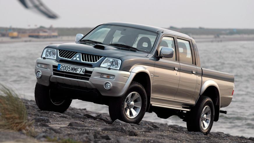2005 год — Mitsubishi L200 третьего поколения