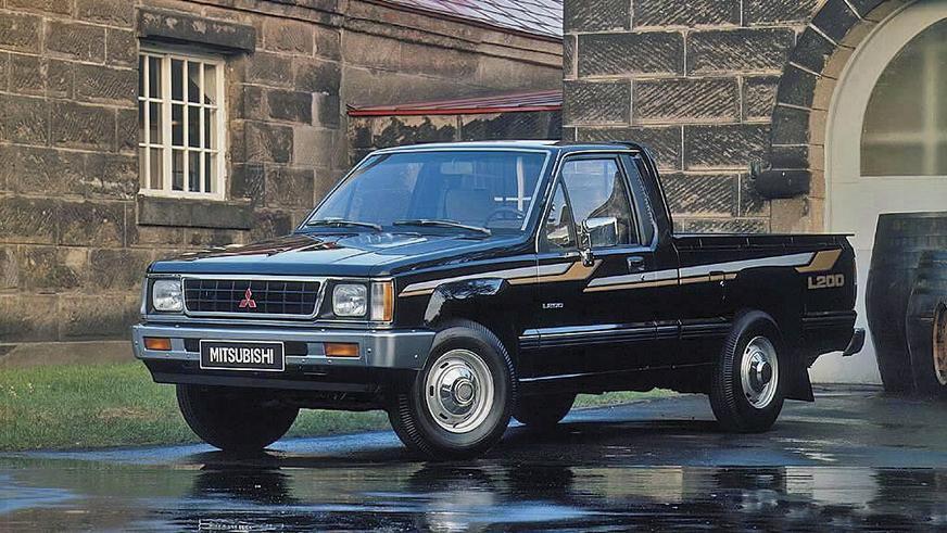 1986 год — Mitsubishi L200 второго поколения