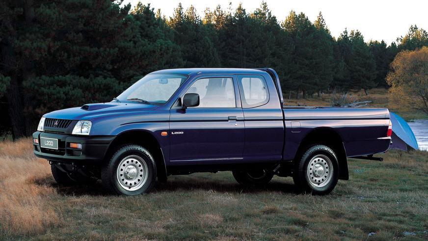 1996 год — Mitsubishi L200 третьего поколения