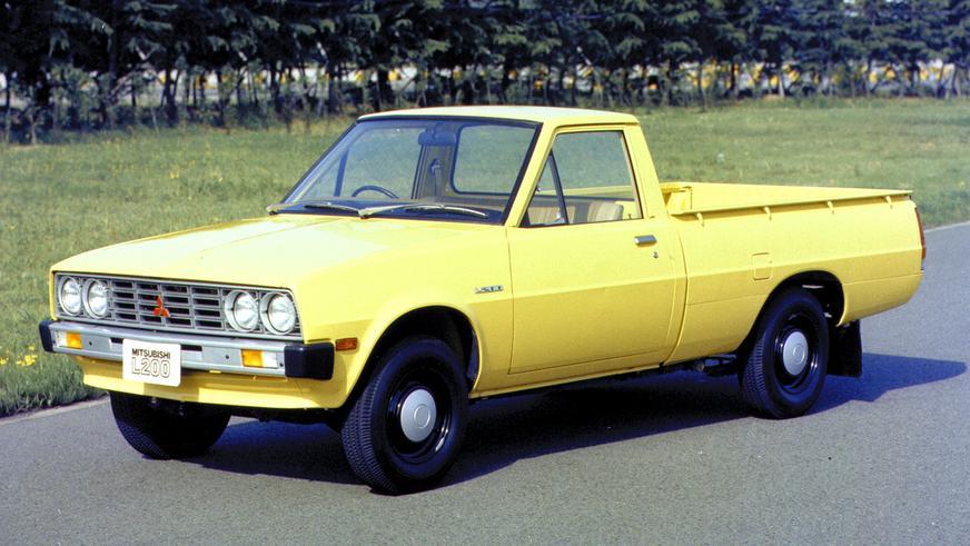 1978 год — Mitsubishi L200 первого поколения