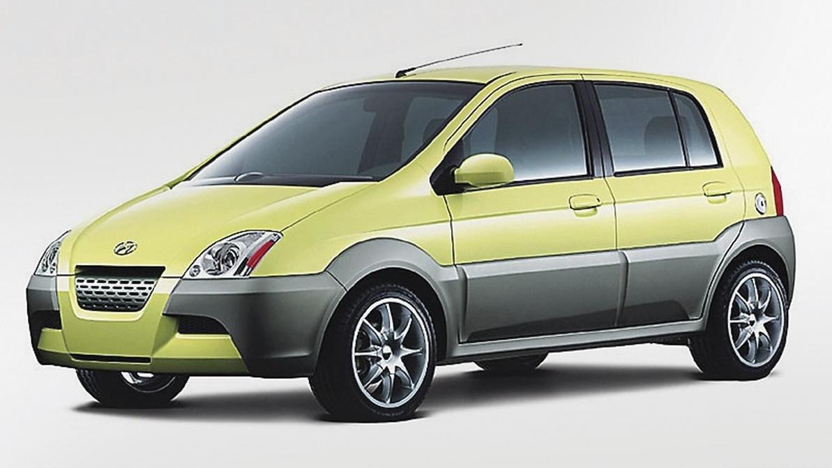 2001 год — Hyundai TB Concept