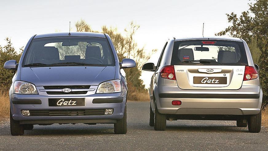 2002 год — Hyundai Getz