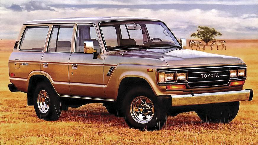 1987 год — Toyota Land Cruiser 60 (FJ62)