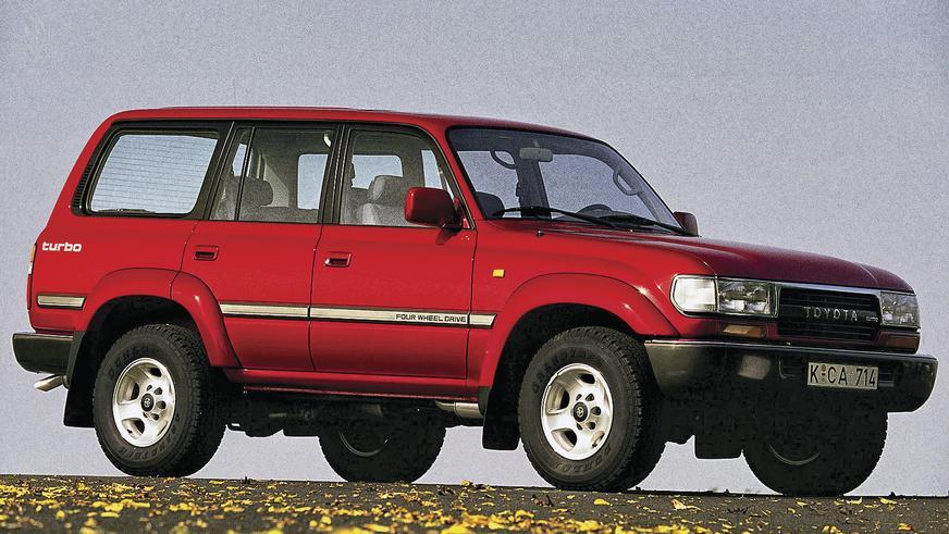 1989 год — oyota Land Cruiser 80 (HDJ81V)
