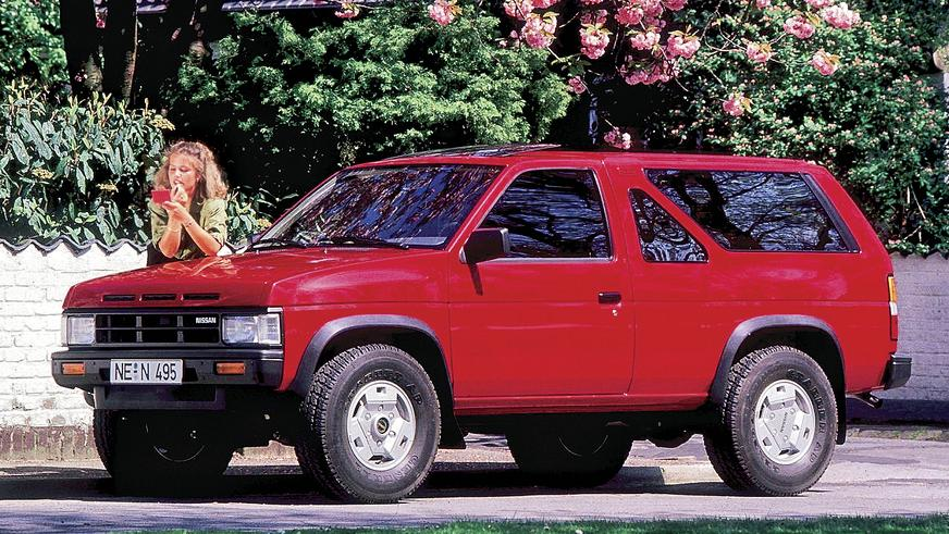 1986 год: Nissan Pathfinder первого поколения